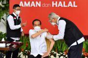 Jokowi: Tahun Ini 181 Juta Rakyat RI Harus Sudah Divaksin