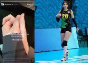 Jadi Pengantin Baru, Sabina Altynbekova Langsung Umbar Kemesraan