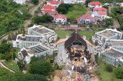 Kondisi Terkini Kantor Gubernur Sulawesi Barat, Seluruh Bangunan Luluh Lantak