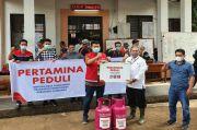 Pertamina Beri Bantuan LPG dan BBM untuk Korban Bencana Longsor Sumedang