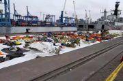 KRI Kurau Bawa Satu Tulang dan Tiga Serpihan Pesawat Sriwijaya Air