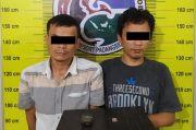 Digerebek Polisi, 2 Warga Sidimpuan Nekad Sembunyikan Sabu di Mulut