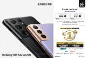 XL Axiata Buka Pre-order Samsung Galaxy S21 Series