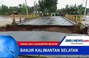Jokowi Minta Perbaikan Jembatan Rusak Akibat Banjir Kalsel dalam Waktu 4 Hari