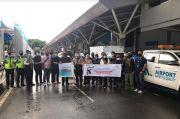 Manajemen Bandara Sultan Hasanuddin Kirim Bantuan ke Sulbar