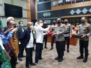 Kapolda Aceh Antar Makalah Calon Kapolri Komjen Listyo Sigit ke DPR