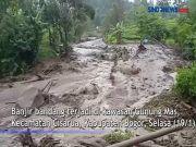 Banjir Bandang Cisarua, Satu Gardu Listrik Rusak