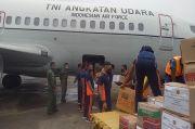 TNI AU Terbangkan 4 Pesawat Bantu Korban Bencana Gempa Majene dan Banjir Kalsel