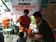 Askar Kauny Bangun Dapur Umum untuk Korban Gempa di Sulbar
