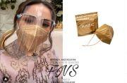 Hadiri 7 Bulanan Zaskia Sungkar, Nagita Slavina Pakai Masker Emas Setengah Juta