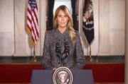 Pamitan, Begini Pesan Perpisahan Ibu Negara AS Melania Trump