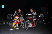 Dua Geng Motor Bentrok saat Galangan Dana bagi Korban Longsor, 1 Tewas