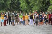 Gubernur Jateng Ganjar Semangati Pasien COVID-19 di Asrama Haji Donohudan Boyolali