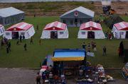 Pengungsian Korban Gempa Majene Dipusatkan di Stadion Manakarra Mamuju