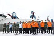Cuaca Cukup Bagus, Tim SAR Gabungan Lanjutkan Pencarian Sriwijaya Air