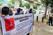Gerakan Pemuda dan Mahasiswa Gelar Aksi Unjuk Rasa di Kantor Kemenkumham
