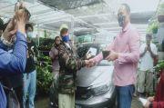 Wow! 8 Pot Tanaman Hias, Salah Satunya Janda Bolong Ditukar Honda Brio
