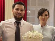 Gemas, Momen Sabina Altynbekova dan Suami Mesra di Hari Pernikahan