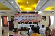 KPUD Skors Pleno Penetapan Bupati dan Wakil Bupati Simalungun Terpilih