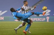 Tendangan Ronaldo Bikin Juventus Boyong Piala Super Italia