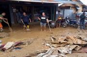 Banjir Bandang Hanyutkan 3 Rumah Warga di Paniai