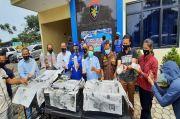 Nekat Selundupkan Benur Senilai Rp6 M, 2 Pelaku Dibekuk Ditpolairud Polda Banten