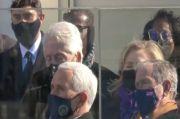 Bill Clinton Tertidur saat Pelantikan Joe Biden sebagai Presiden AS