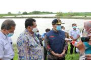 Pemprov Jatim Siapkan 3 Lokasi Proyek Penanganan Banjir Kali Lamong di Gresik