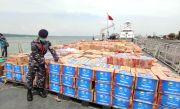 KRI OWA- 354 Angkut Bantuan Korban Gempa Bumi di Sulawesi Barat