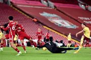 Babak I Liverpool vs Burnley: Buntu, The Reds Belum Mampu Bikin Gol
