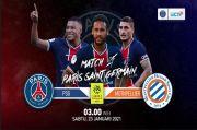 Live Streaming RCTI Plus, PSG vs Montpellier: Asa Pertegas Posisi