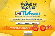 Flash Sale eTVmall Buka Diskon Besar-besaran, Syaratnya Sambil Nonton TV