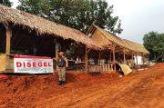 Belum Punya Izin, Rumah Makan Saung Milik Mantan Anggota DPRD Ini Disegel