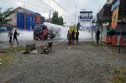 Jalur Lintas Medan-Banda Aceh Gempar, Tangki Pengangkut Elpiji Bocor