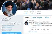 Posting Ancaman Balas Dendam Terhadap Trump, Twitter Suspend Akun Khamenei