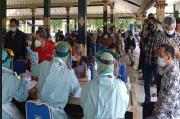 Kontak Erat dengan Bupati Sleman, Ratusan ASN Ikuti Rapid Swab Antigen