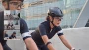 Ini Cara Dian Sastro Gunakan Galaxy S21 Ultra untuk Abadikan Kegiatan Bersepeda