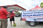 Jamin LPG di Daerah Terdampak Gempa, Pertamina Lakukan Operasi Pasar