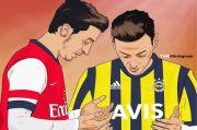 Resmi Berpamitan, Oezil Doakan Arsenal ke Puncak Klasemen Liga Primer Inggris