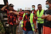 Jembatan Tersapu Banjir, PUPR Segera Buat Penyeberangan Darurat untuk Warga
