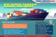 KM Tanto Bersinar Tabrakan dengan TB Mitra Jaya XIX, 5 ABK Belum Ditemukan