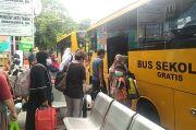 Bus Sekolah Dishub DKI Evakuasi 13.954 Pasien Covid-19 Sejak Awal Pandemi