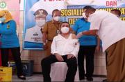 Vaksinasi Perdana, Bupati Pati Haryanto Dicecar 16 Pertanyaan