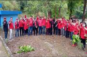 PDI Perjuangan Pematangsiantar Tanam Pohon di DAS Bah Bolon