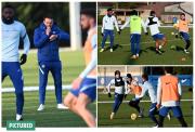 Begini Suasana Latihan Chelsea Setelah Lampard Dipecat