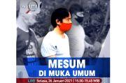 Realita Live di iNews dan RCTI+ Selasa Pukul 15.00: Mesum di Muka Umum