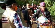 Bantu Korban Gempa di Daerah Terisolir, Gubernur Sulbar Terjebak Longsor