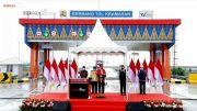 Tol Kayu Agung-Palembang Diresmikan, Bakauheni-Palembang Kini Cuma 3 Jam!