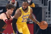 Hasil Lengkap Pertandingan NBA 2020/2021, Selasa (26/1/2021) WIB: LeBron James Sempurna
