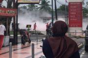 Ada Ledakan di Dekat SPBU Tandes, Labfor dan Polrestabes Gelar Olah TKP